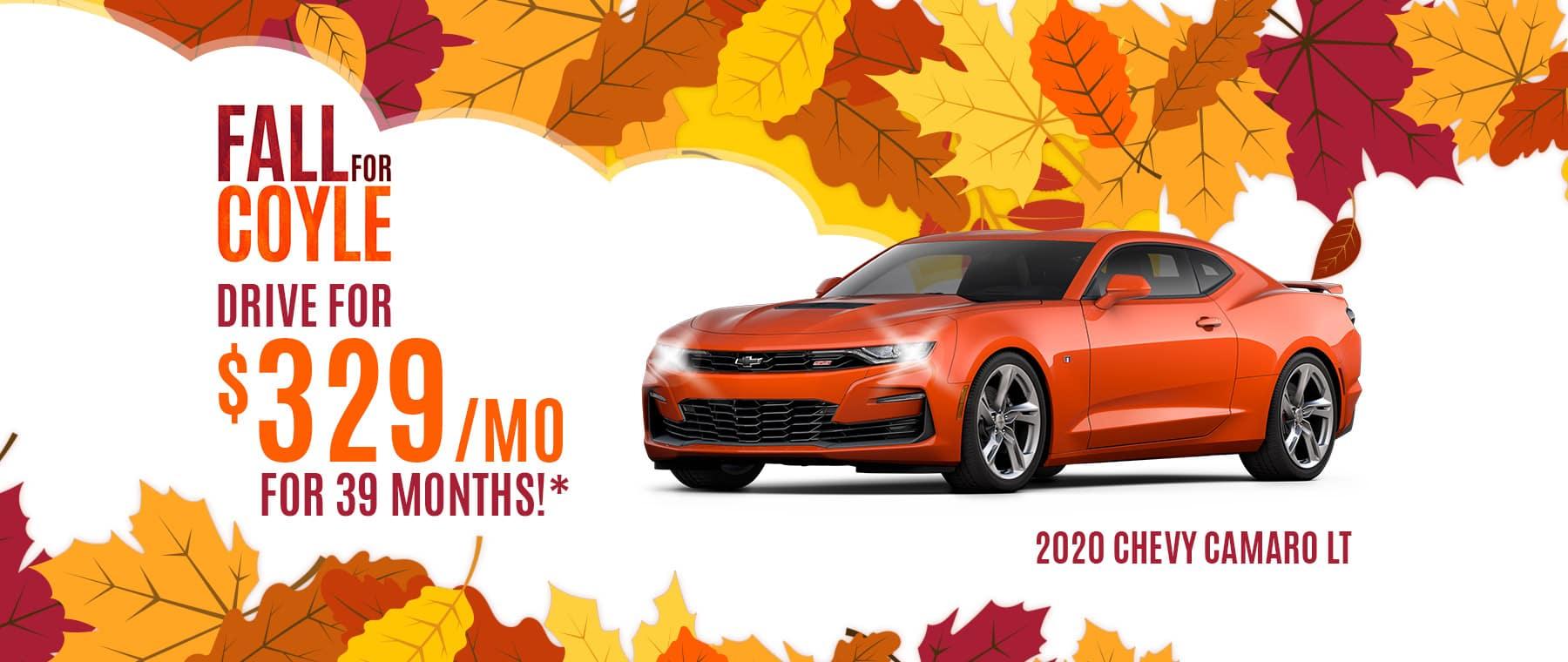 Best deal on new Camaro near Louisville, Kentucky