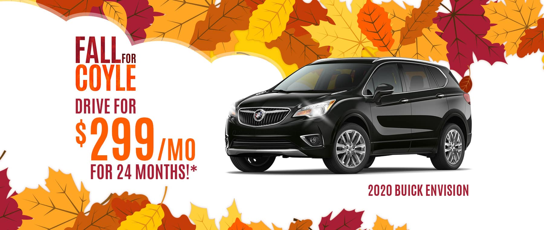 Lease a New Buick Envision near New Albany, Indiana