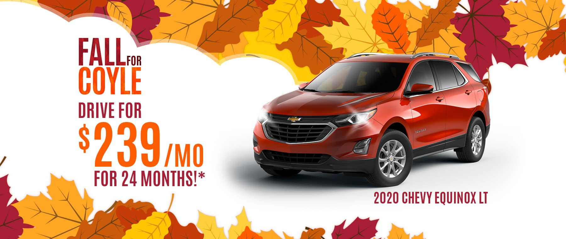 Lease a New 2020 Chevy Equinox near Louisville, Kentucky