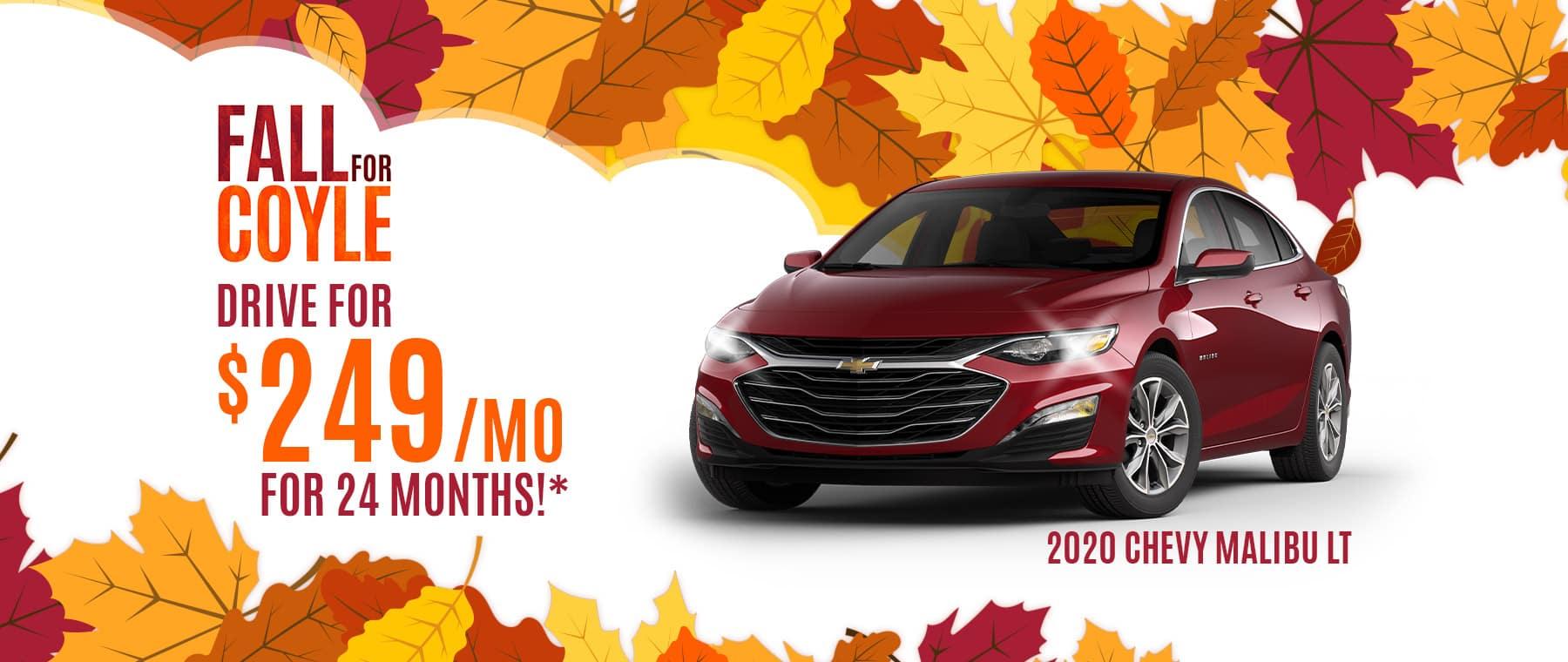 Best deal on a new Chevrolet Malibu near Louisville, Kentucky
