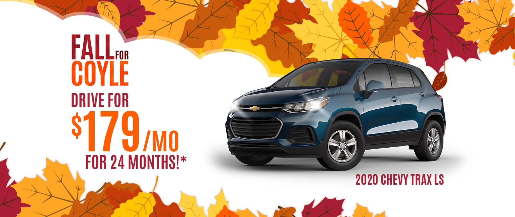 Lease Special on New Chevrolet Trax near Georgetown, Indiana
