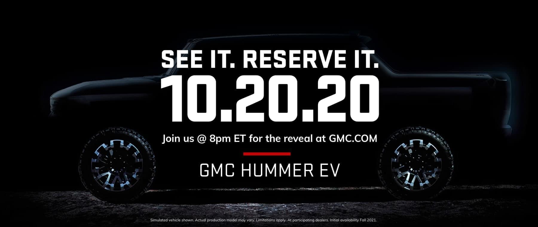 GMC Hummer EV coming 10-20-20