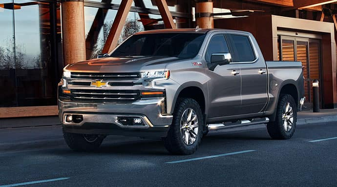 An exterior shot of Certified Pre-owned Silverado Truck.