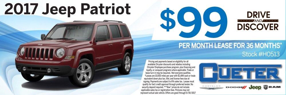 Cueter Chrysler Jeep Dodge Ram New Used Car Dealer