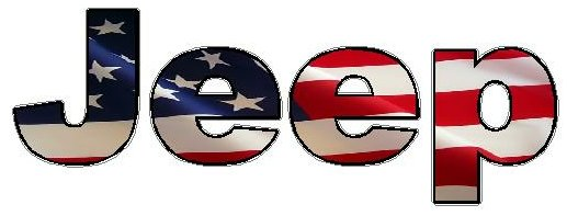 jeep logo american flag