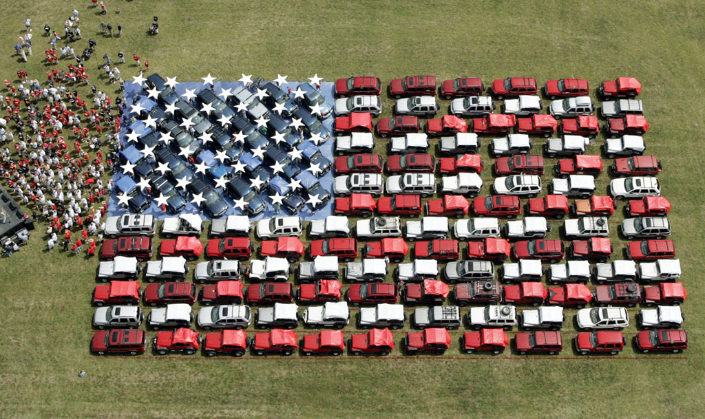 Awesome Jeep Pictures on Independence Day