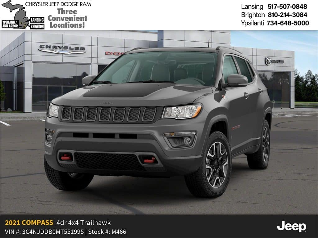 2021 Jeep Compass 80th Anniversary Edition 4x4 Lease Offer