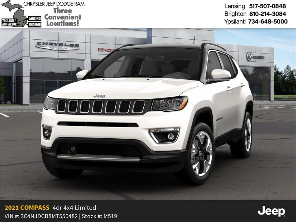 2021 Jeep Compass Limited 4x4 December Lease Offer