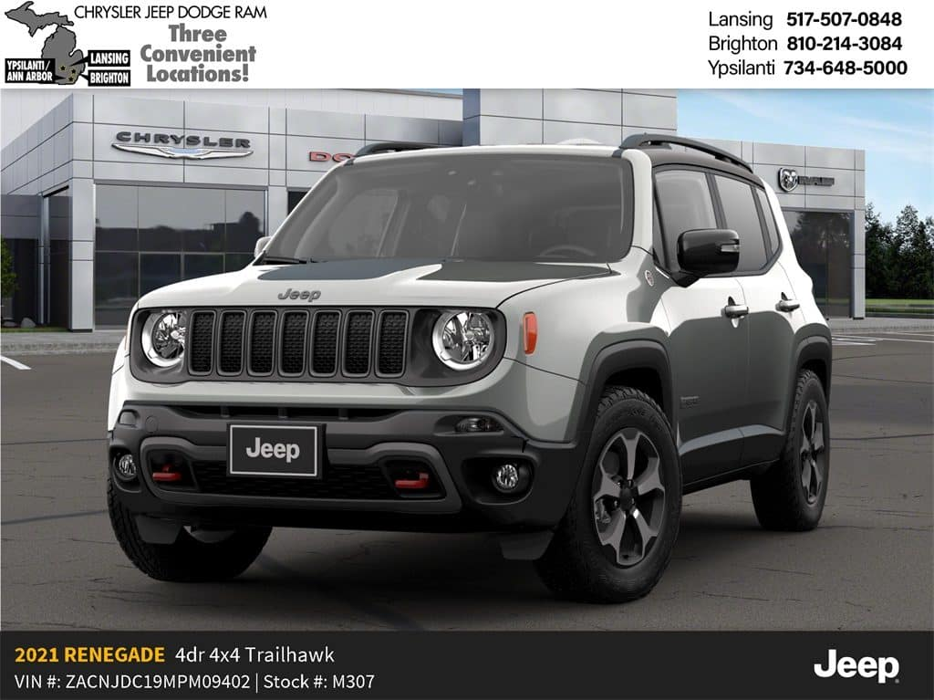 2021 Jeep Renegade Trailhawk 4x4 Lease Offer