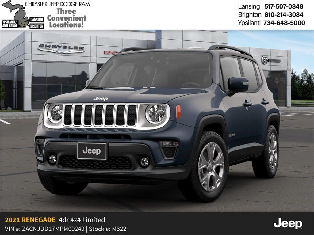 2021 Jeep Renegade Limited 4x4 Lease Offer Cueter Chrysler Jeep Dodge