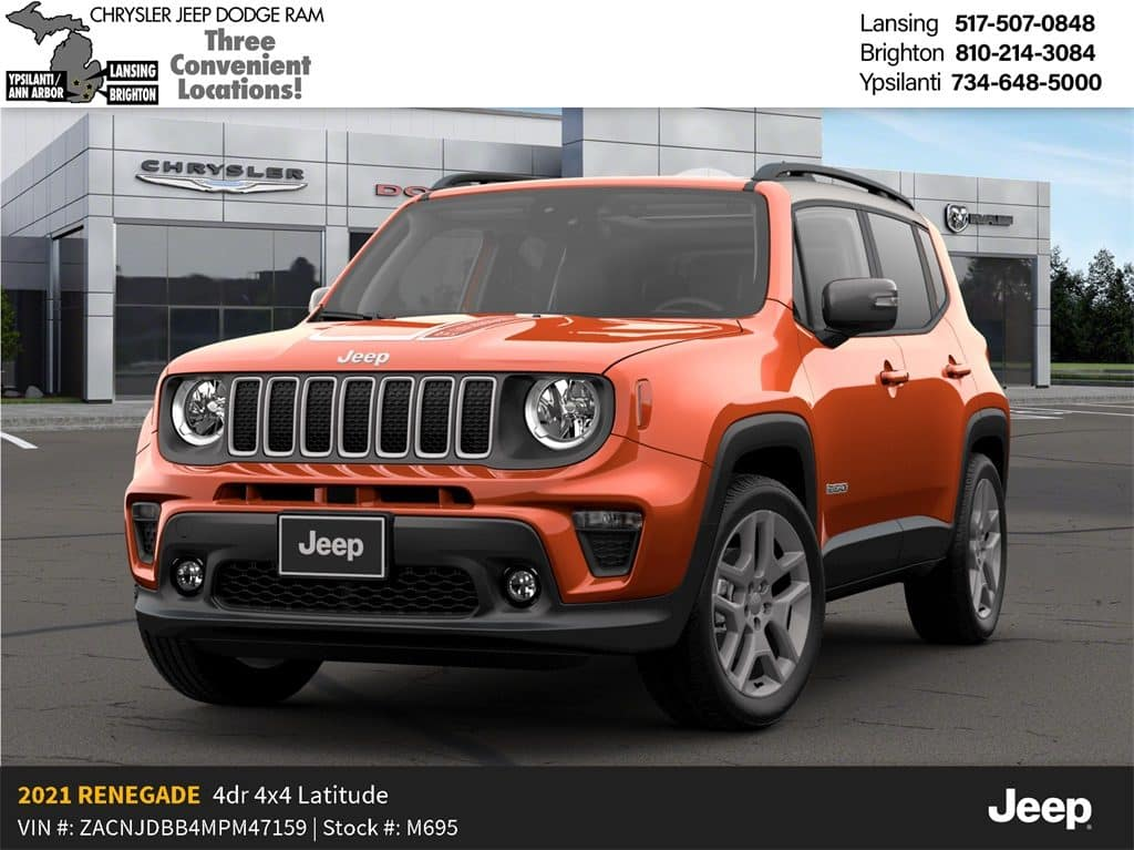 2021 Jeep Renegade Islander 4x4 Lease Offer