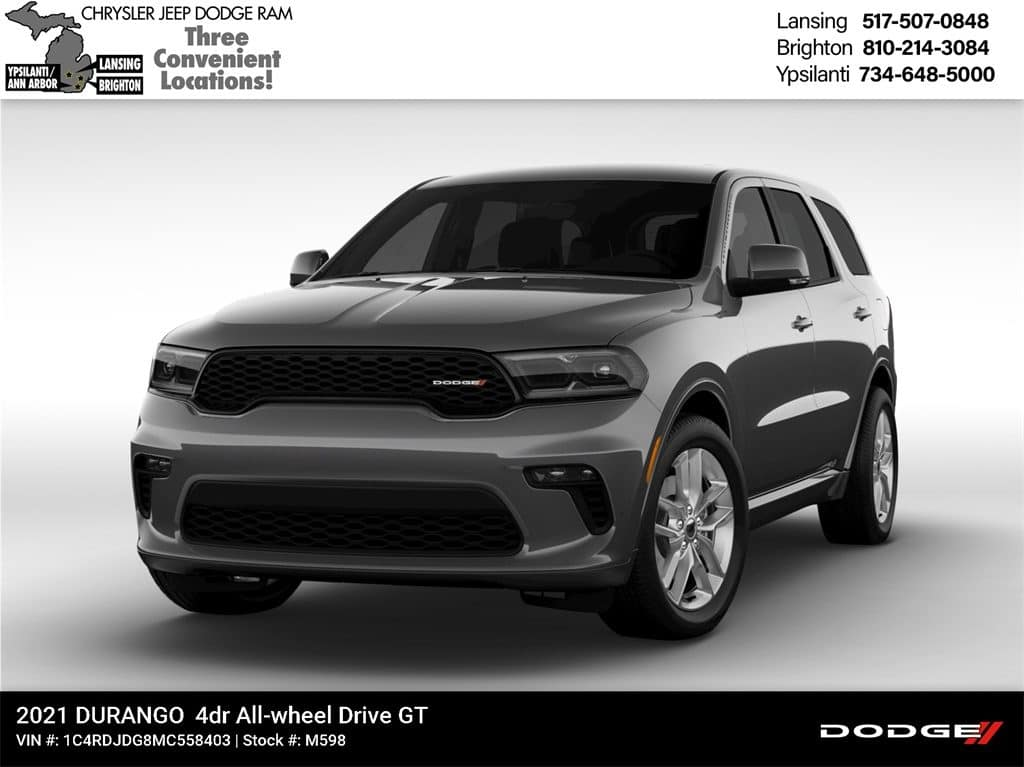 2021 Dodge Durango GT Plus AWD Lease Offer