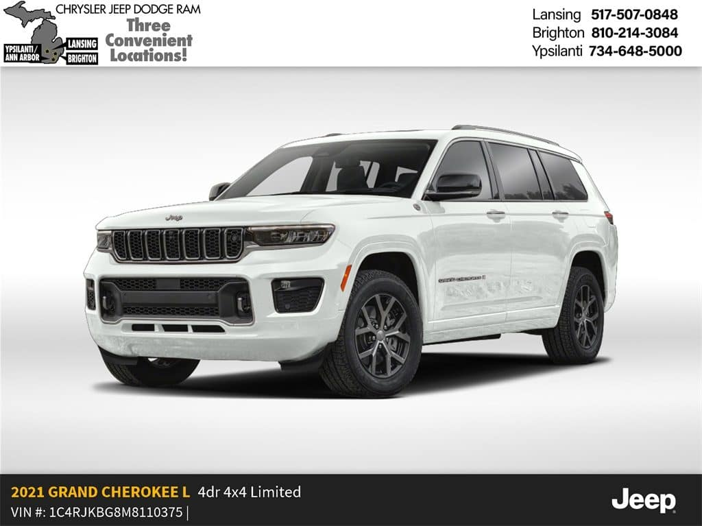2021 Jeep Grand Cherokee- L Limited  4x4 Lease Offer