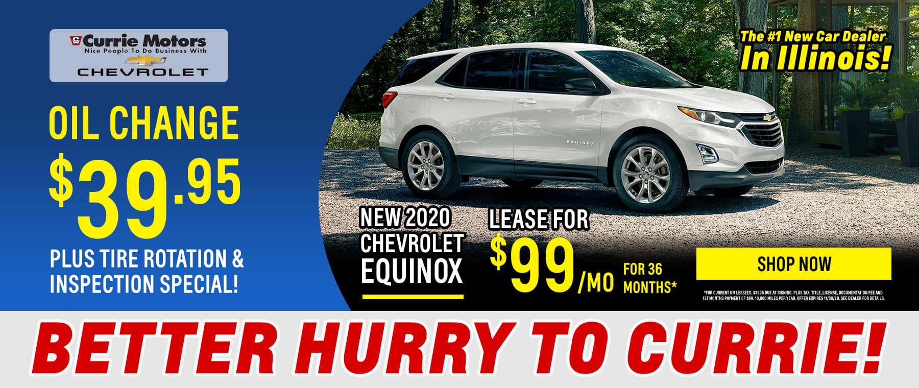 Equinox Special Offer