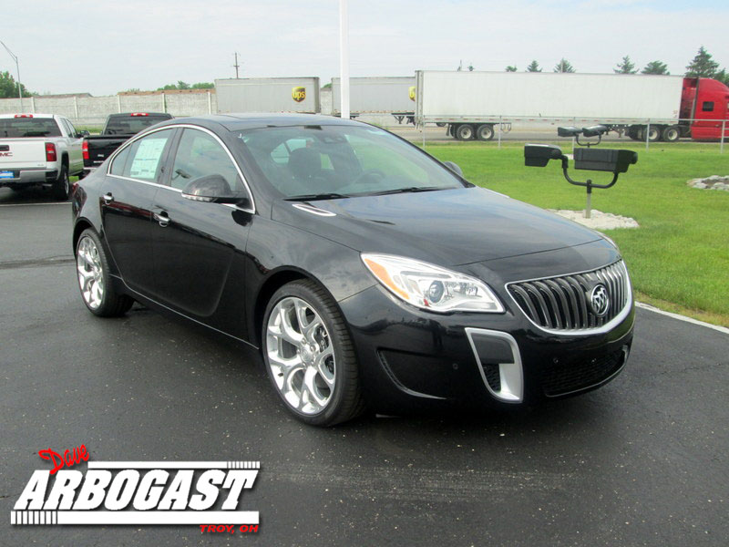 2014 Buick Regal Offers All-Weather All-Wheel Drive