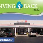 "Dave Arbogast ""Giving Back"" Facebook Contest"