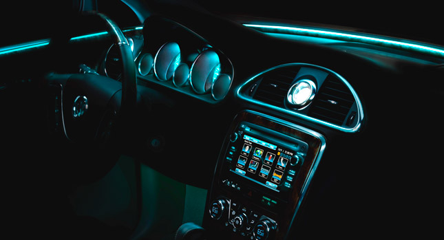 Buick's Use of Ambient Lighting in Luxury Vehicles