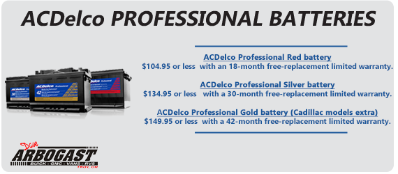 AC Delco Batteries Dave Arbogast