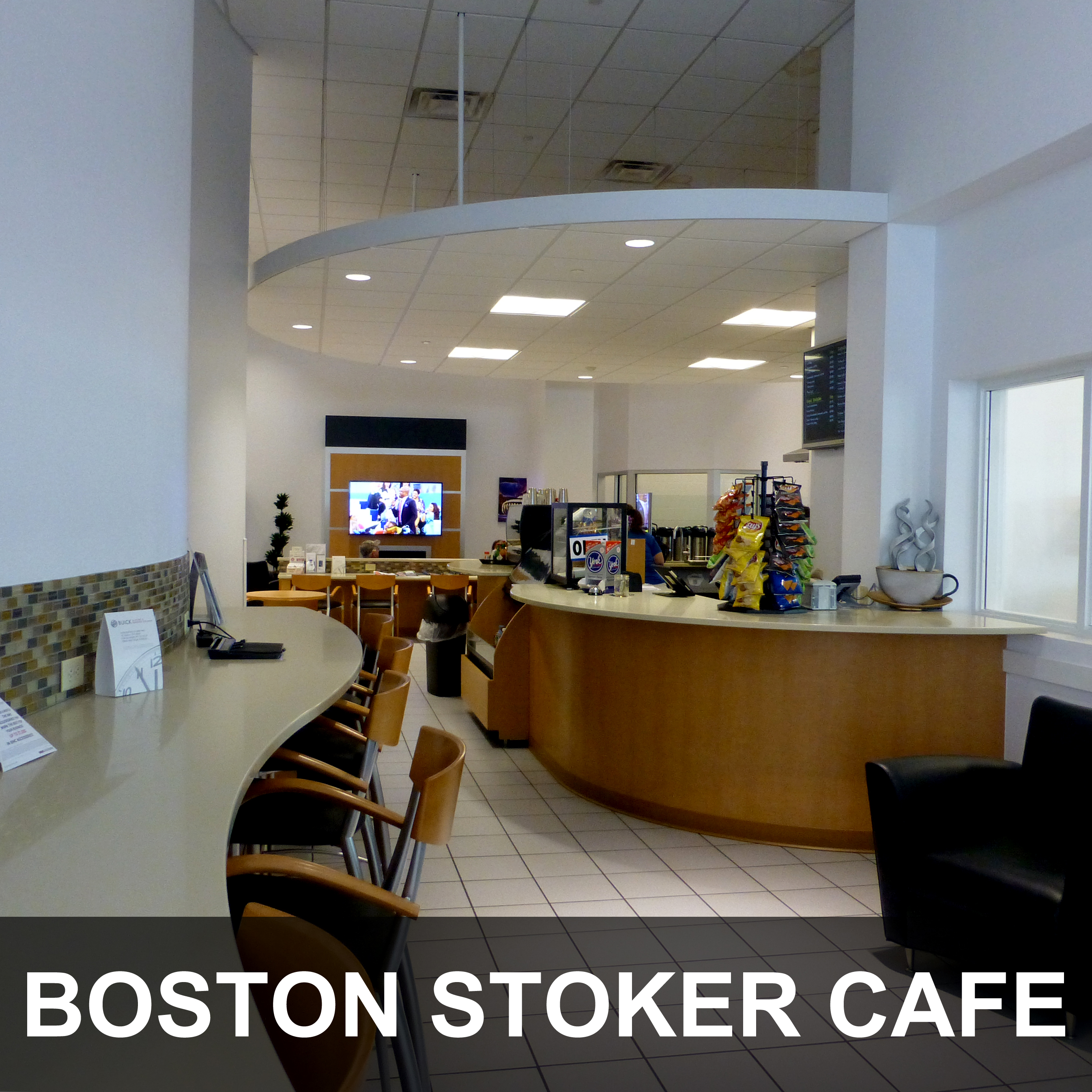 Boston Stoker Cafe at Dave Arbogast