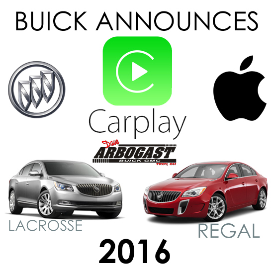 Apple CarPlay Technology Announced for Two Buick Models ...