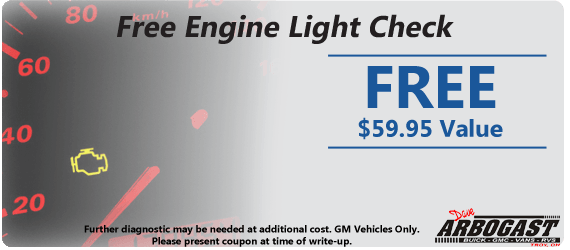 Free Engine Light Check | Dave Arbogast Buick GMC
