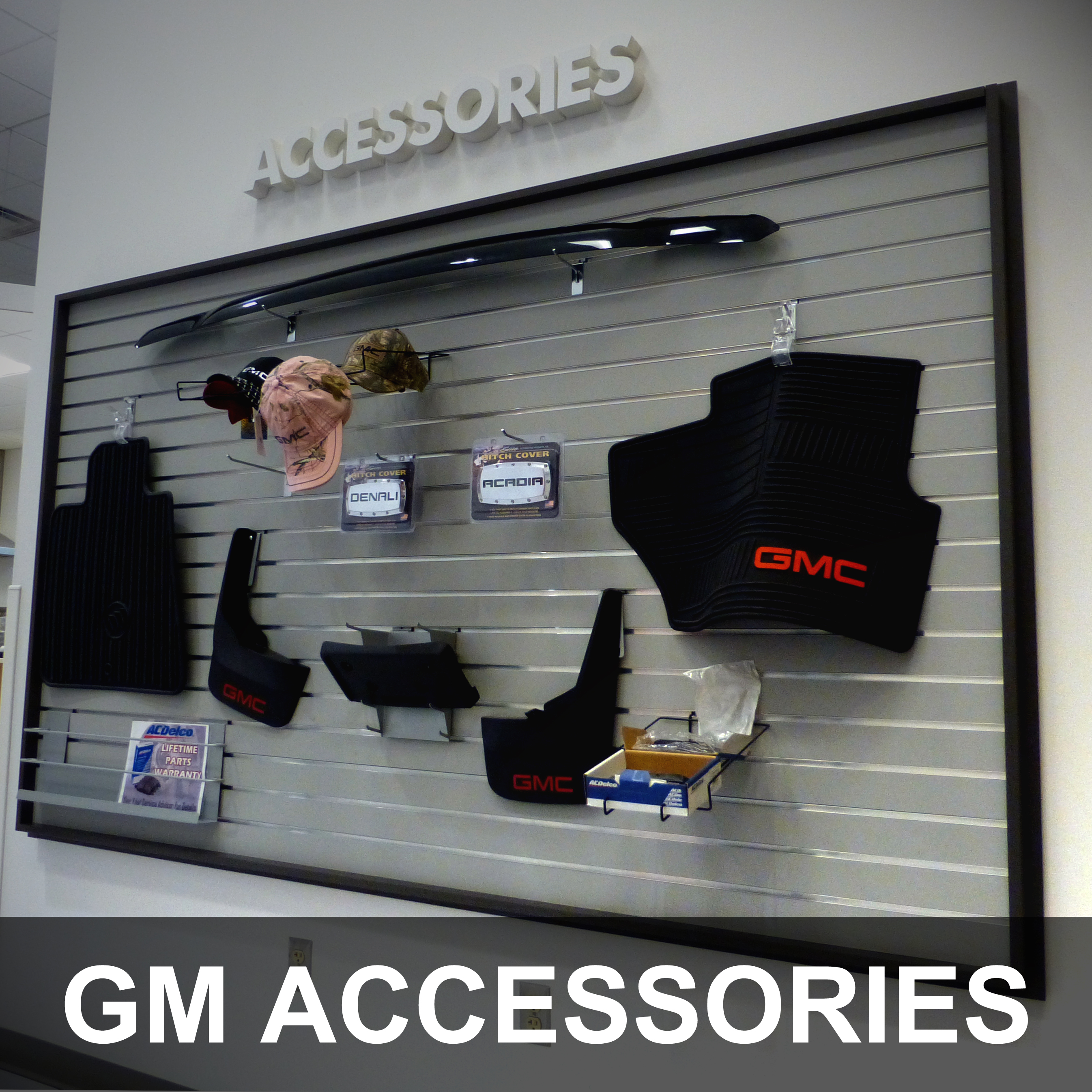 GM Accessories at Dave Arbogast