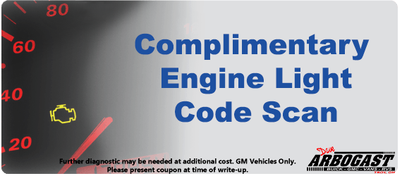 Auto service specials troy dave arbogast for General motors parts online discount code