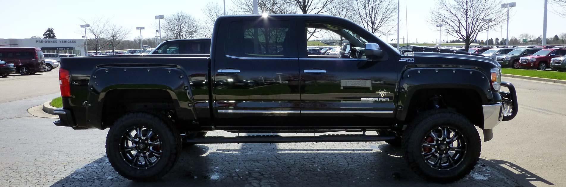 Lifted Trucks Exterior