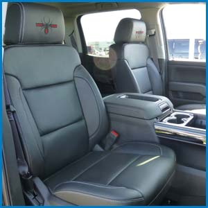 Premium Leather Seating