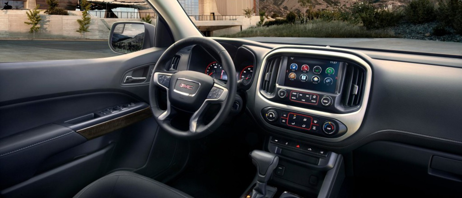 The 2017 Gmc Canyon Redesign Comes To Dayton And Troy 89 Wiring Diagram 2016 Interior