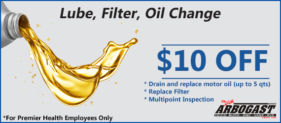 10 Dollars off Oil Change
