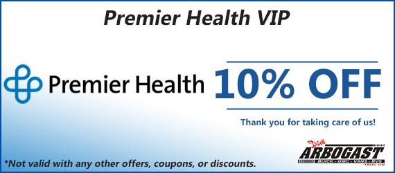 Premier Health 10 Percent Service Coupon