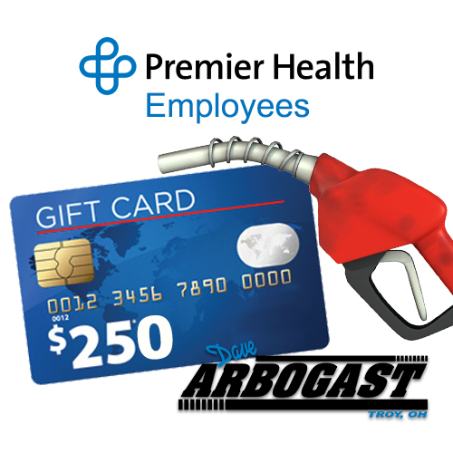 Premier Health Employee Gas Card Offer