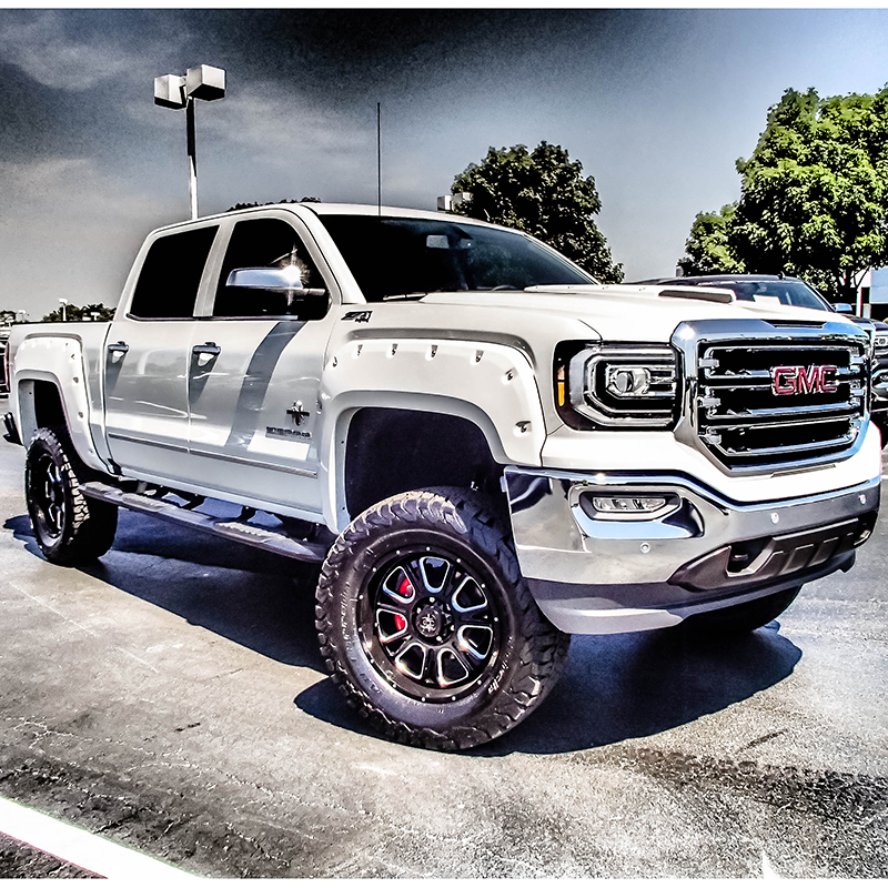 Lifted Gmc Canyon >> Black Widow Conversion Truck | Dave Arbogast