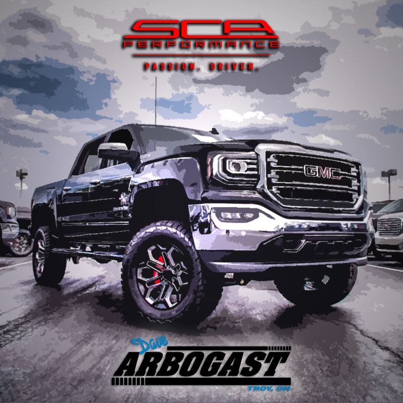Lifted GMC Trucks by SCA Performance | Dave Arbogast