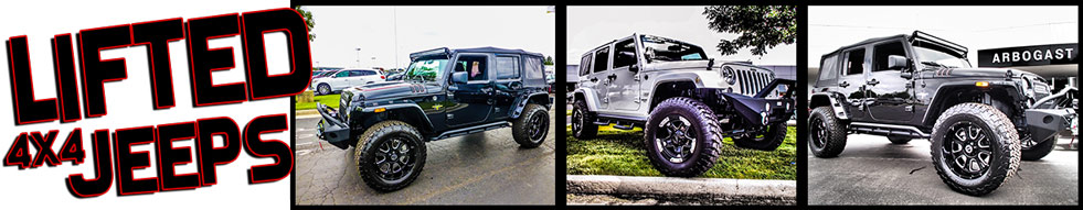 Lifted Jeeps For Sale >> Custom Lifted Jeeps For Sale In Troy Dave Arbogast