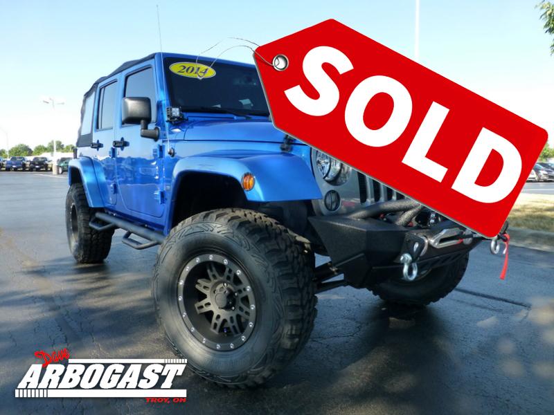 Custom Jeep Sold