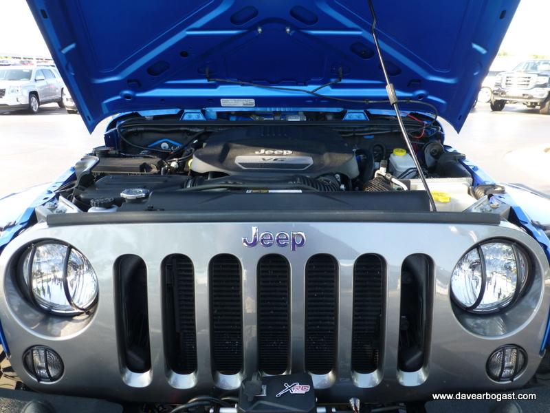 Custom Jeep Under hood