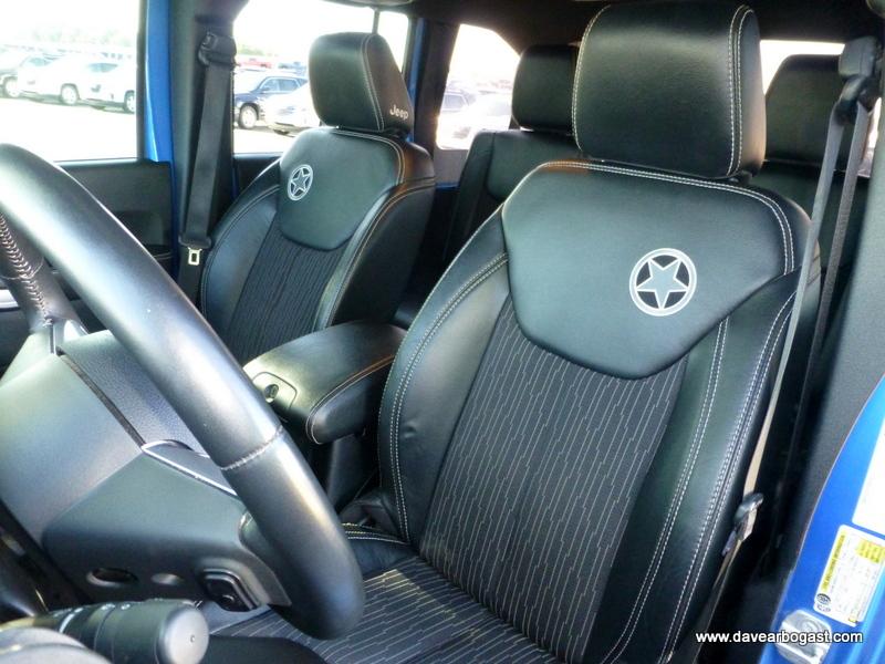 Custom Jeep Seat