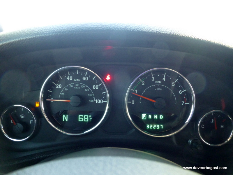 Custom Jeep instrument gauges