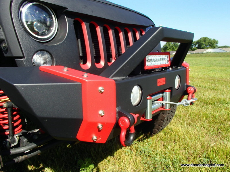 Custom Jeep front