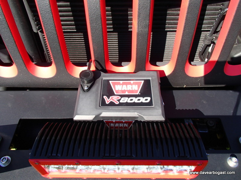 Warn Industries Custom Jeep Winch VR8000