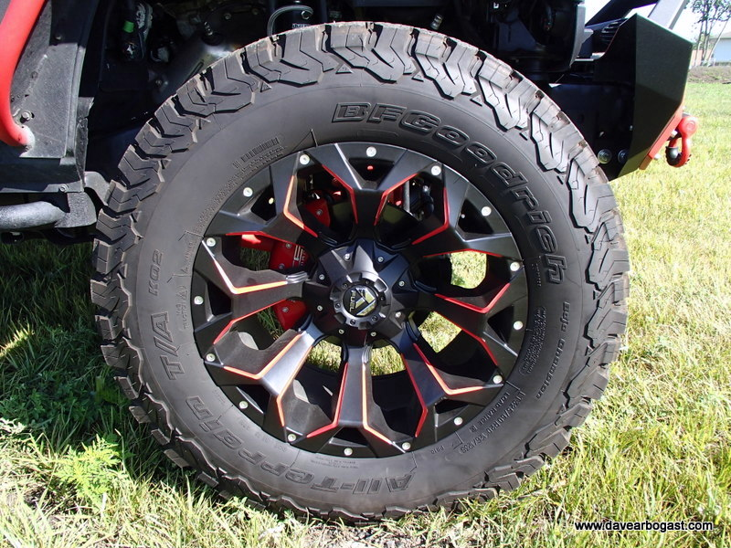 20 inch wheel custom jeep