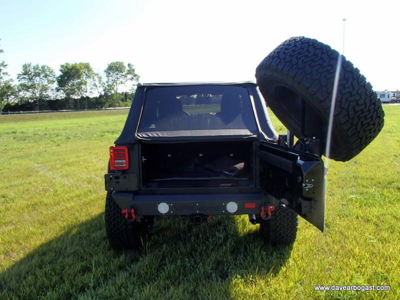 Rear Door Open Custom Jeep