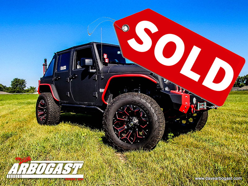 Jeep Wrangler VPR 4x4 Sold
