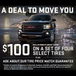 Up to $100 Tire Rebates at Dave Arbogast