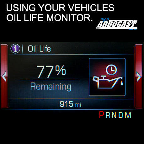 Using Your Oil Life Monitor | Dave Arbogast