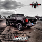 2017 Black Widow Lifted Truck Review