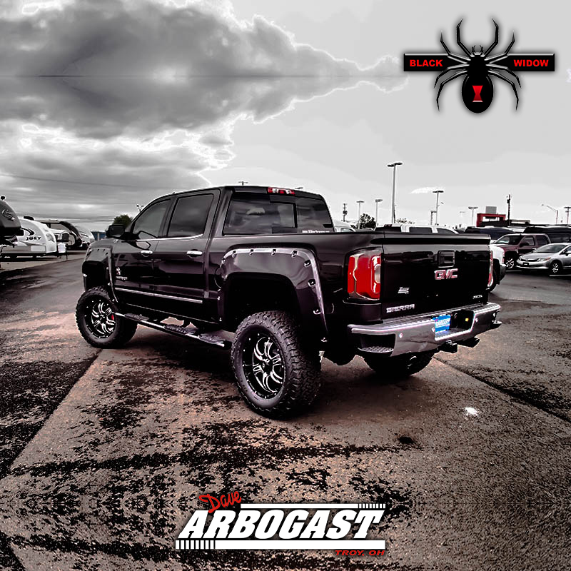 2017 Gmc Sierra Black Widow Lifted Truck Review Dave Arbogast