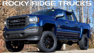 Rocky Ridge Trucks K2 Package Blue